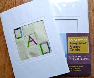 DAD Block To Use with the Carol Doak Keepsake Cards